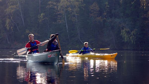 Foto: Lits Camping,  © Copy: Lits Camping, Paddle in the autumn