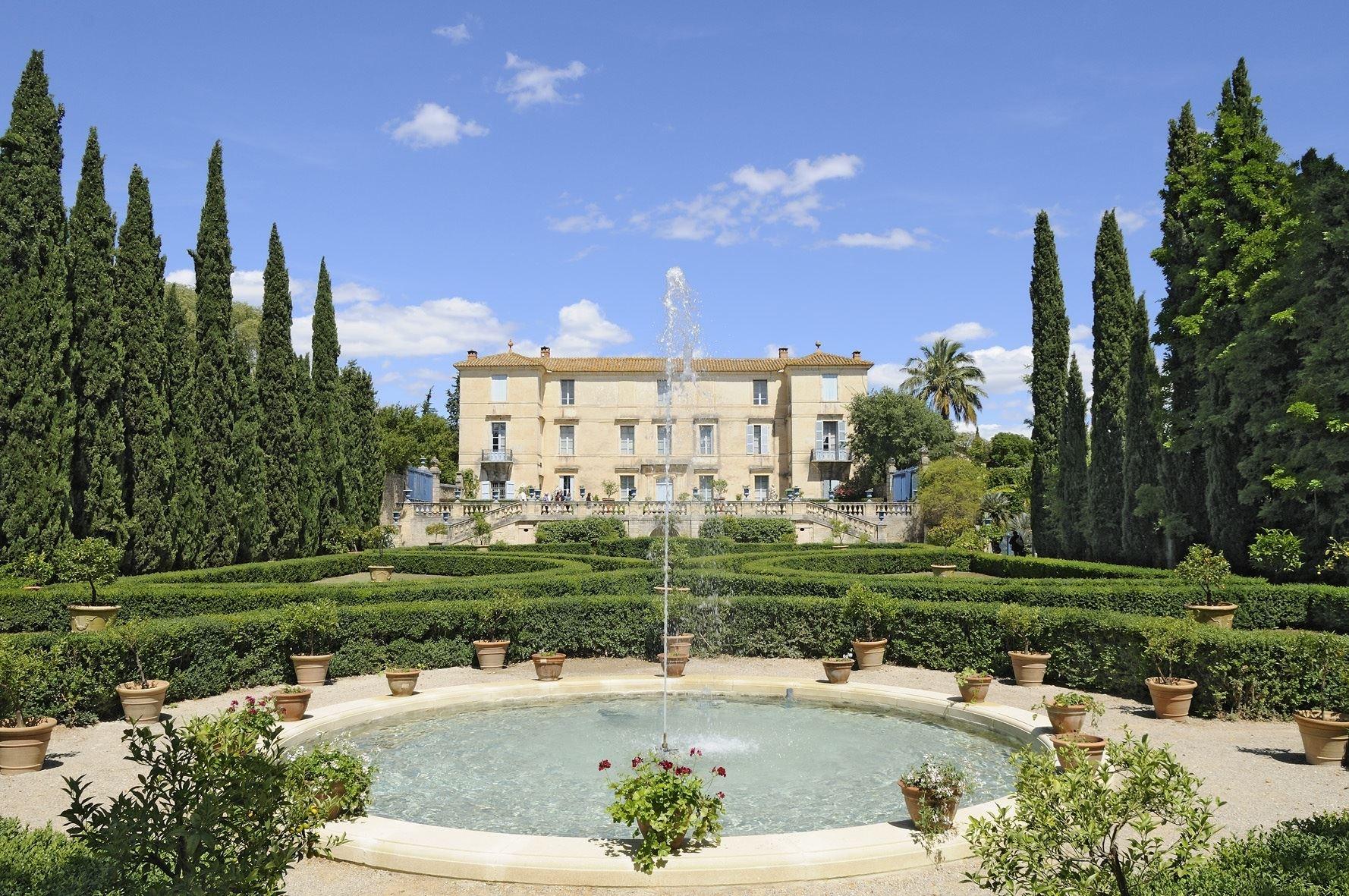 Castillo de Gres de Montpellier con Montpellier Wine Tours