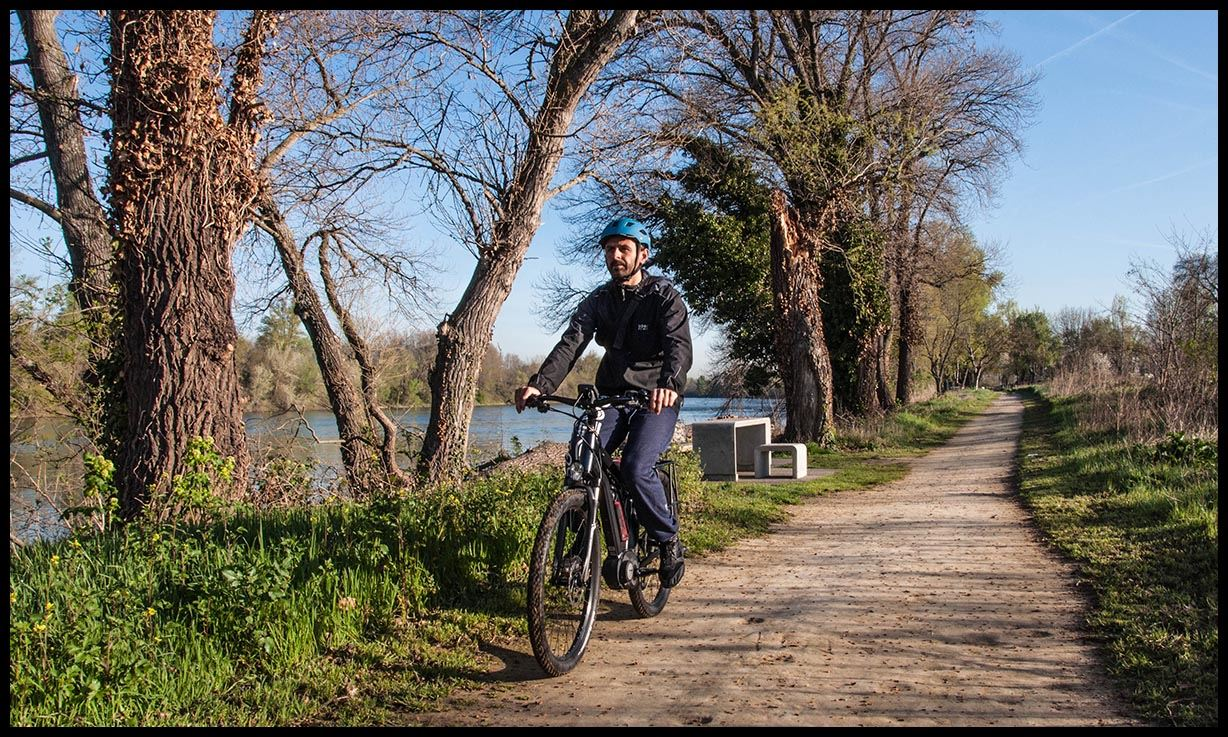 Discovering Toulouse along the water highlights...(bike size L)