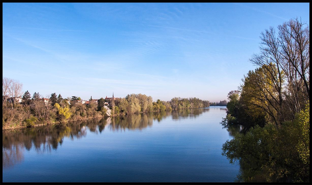 Discovering Toulouse along the water highlights...(bike size S)