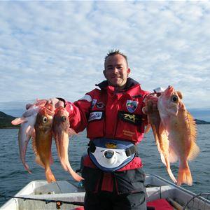 Visthus Rorbucamping,  © Visthus Rorbucamping, Fiske på fjorden