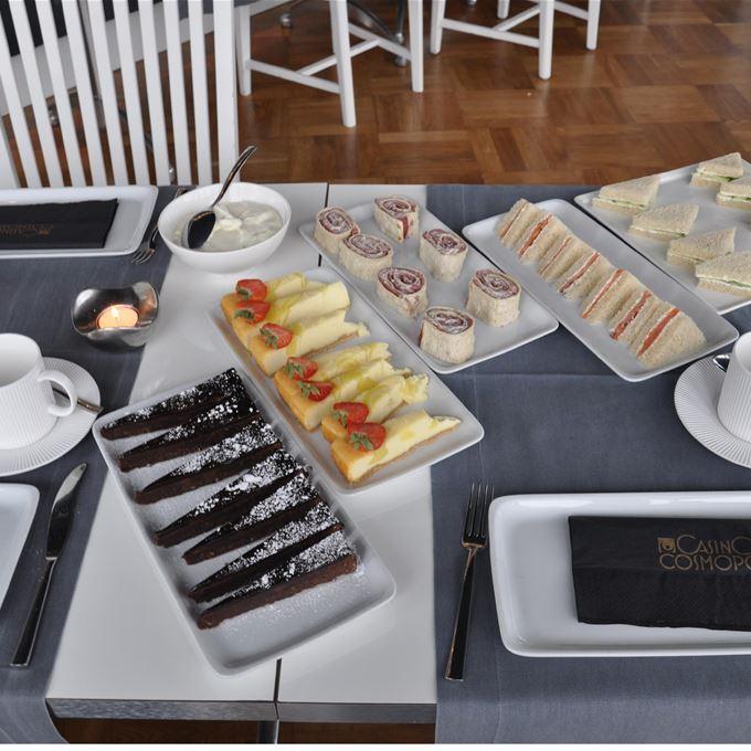 Afternoon Tea på Casino Cosmopol