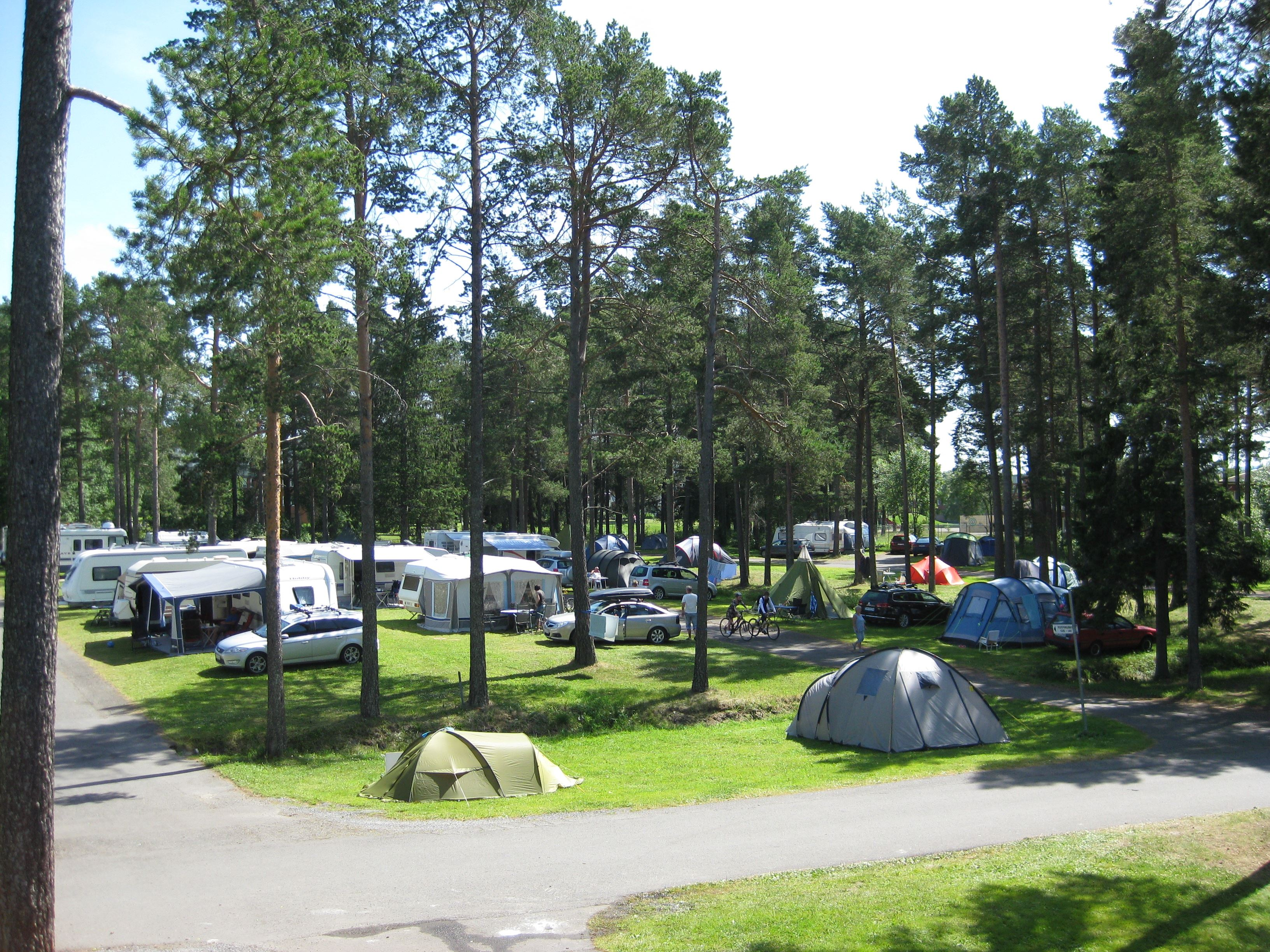 Foto: Östersunds Stugby & Camping,  © Copy: Östersunds Stugby & Camping, Husbilar, husvagnar och tält