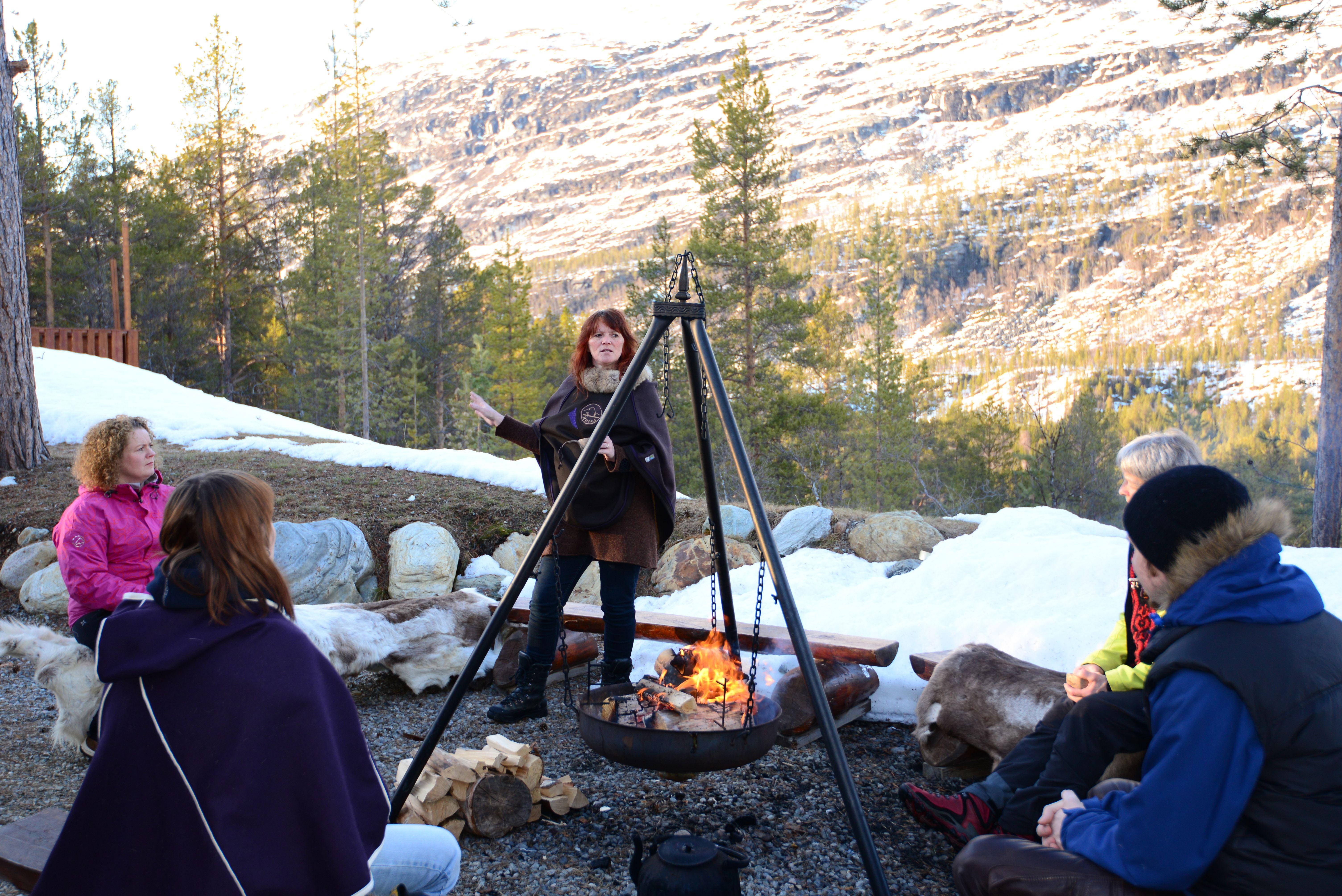 Wilderness Experience at Visitor Point Reisadalen