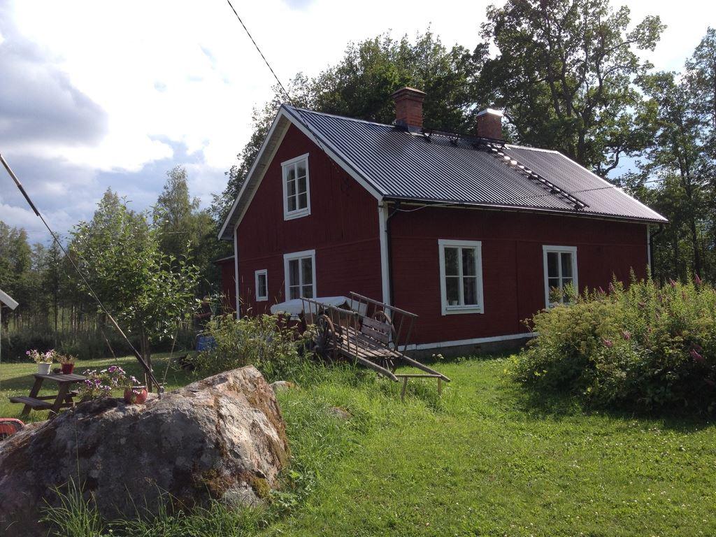 """Grandmas cabin at """"Västanvindsgården"""""""