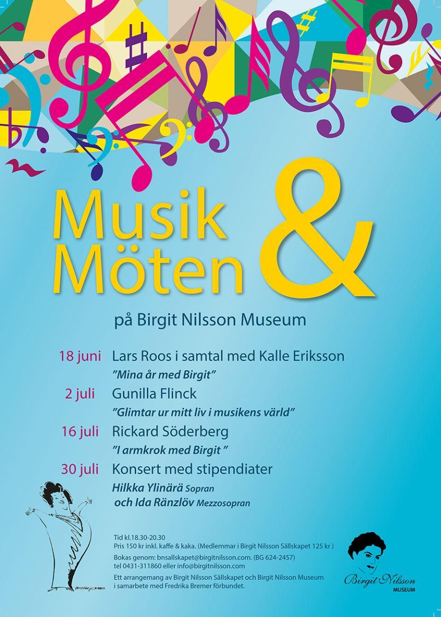 """""""Musik & Möten"""" at Birgit Nilsson museum"""