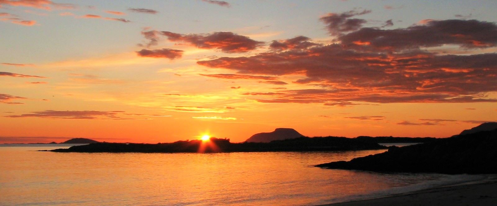 Experience the midnight sun in the arctic summer - Norfishinfo