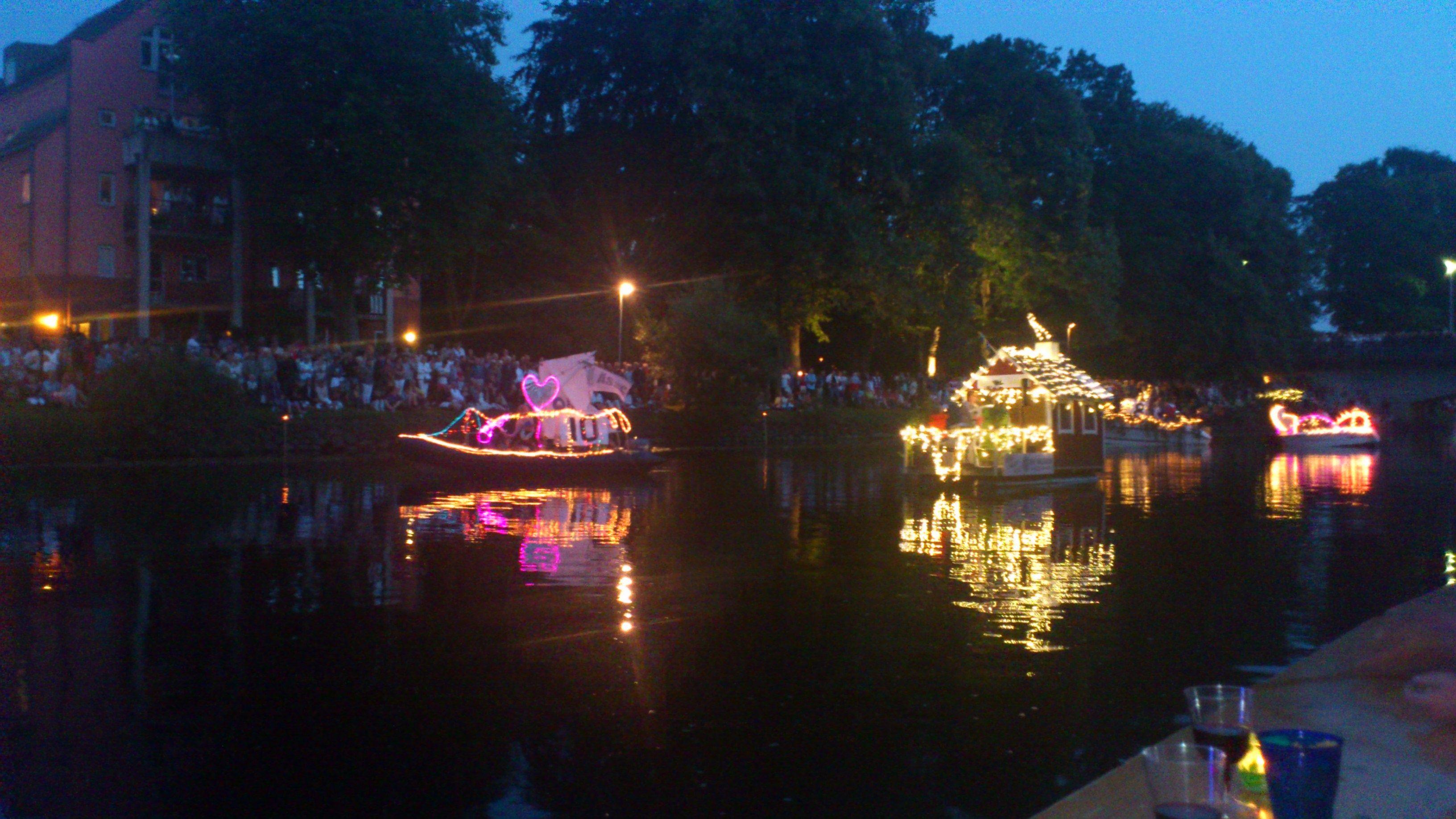 Festival of Lights at Rönne å