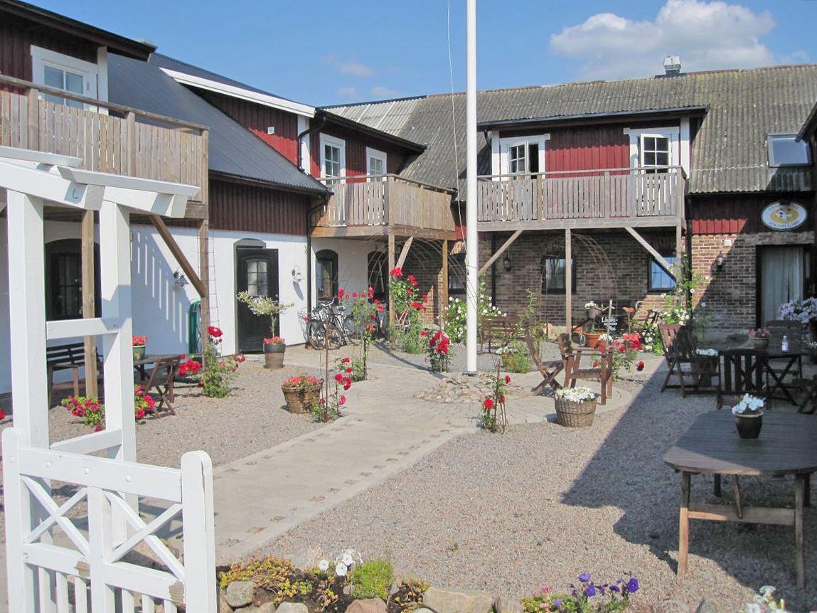 Landhotel Lögnäs Gård - an Schwedens längsten Strand zwischen Båstad und Laholm