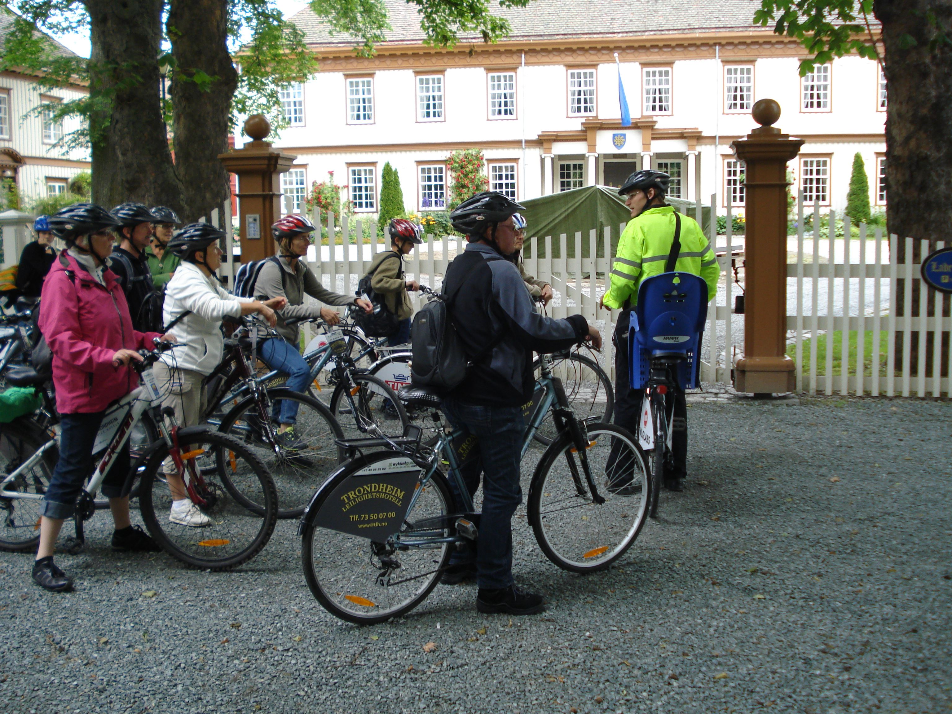 Sykkelguide.com, Guided bicycle tour in Trondheim
