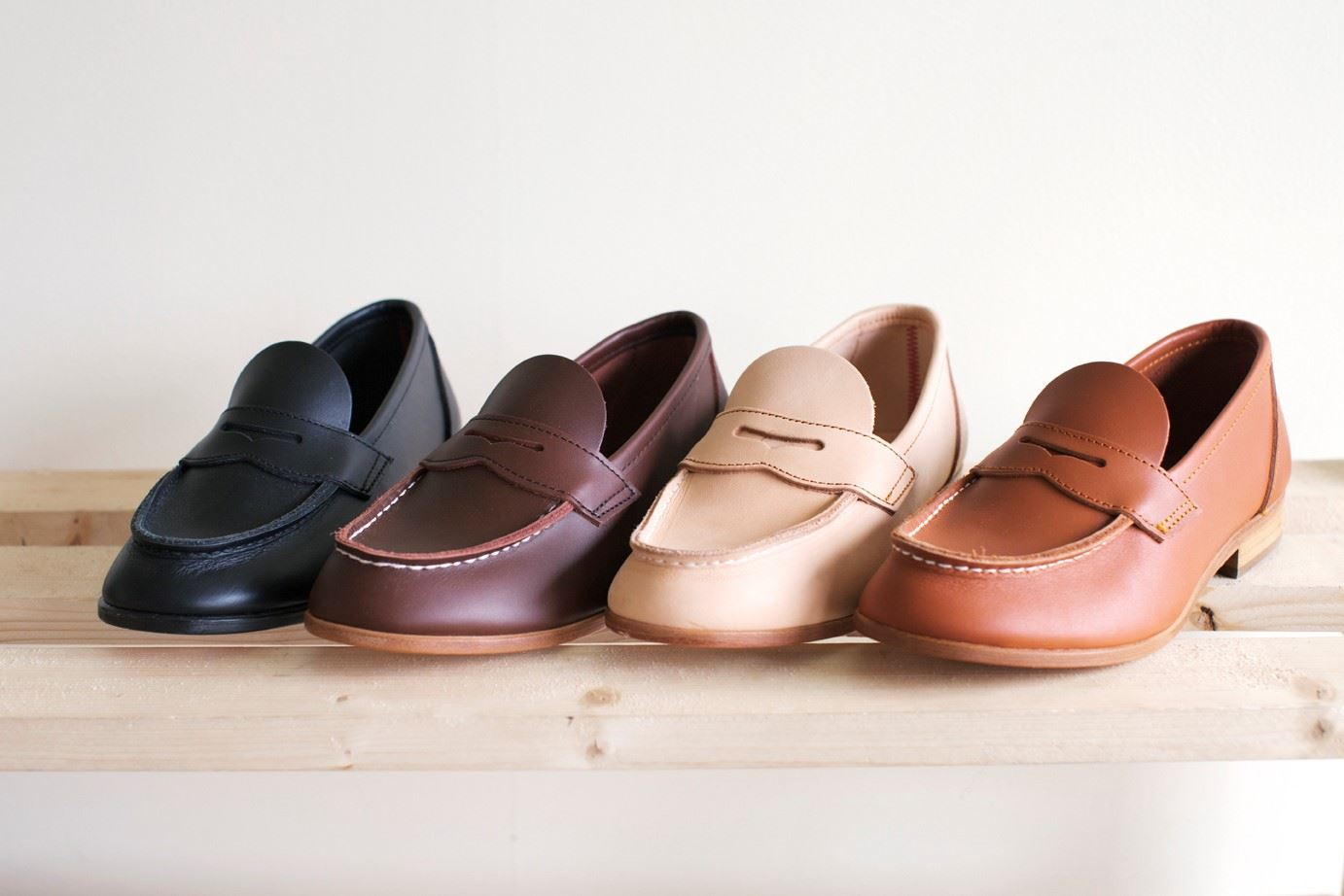 Guided tour of the penny loafer factory
