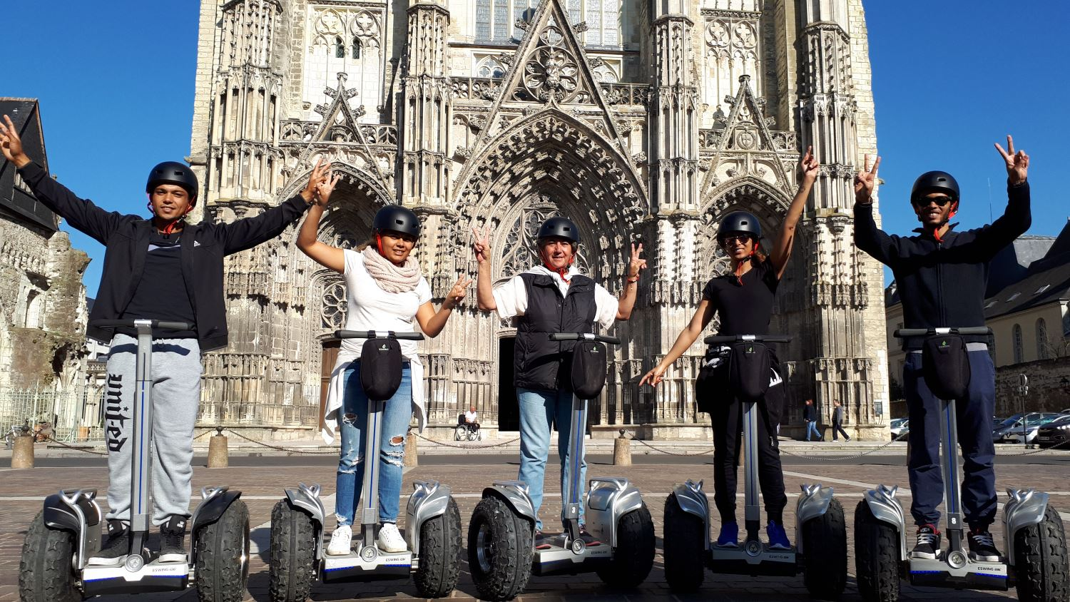 90 MINUTES TO VISIT TOURS BY SEGWAY FROM TOURS TOURIST OFFICE - EASTER SPECIAL OFFER
