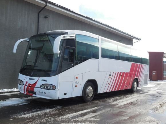 Bus and driver rental