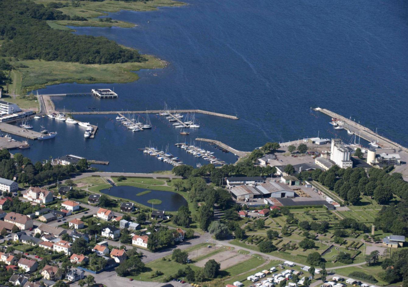 Ställplats - Borgholms Hamn