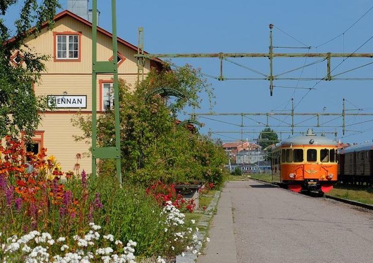 Sveriges Järnvägsmuseum,  © Sveriges Järnvägsmuseum, Följ med på en resa med rälsbussen i sommar