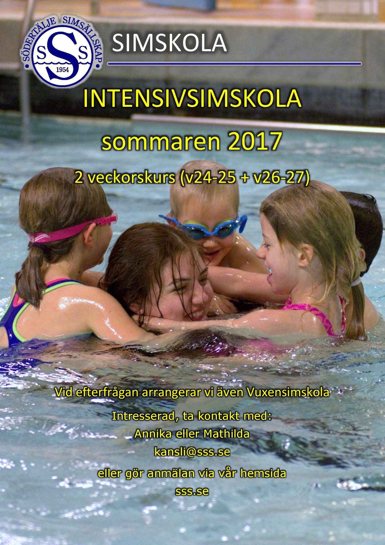 Intensivsimskola Sommaren 2017