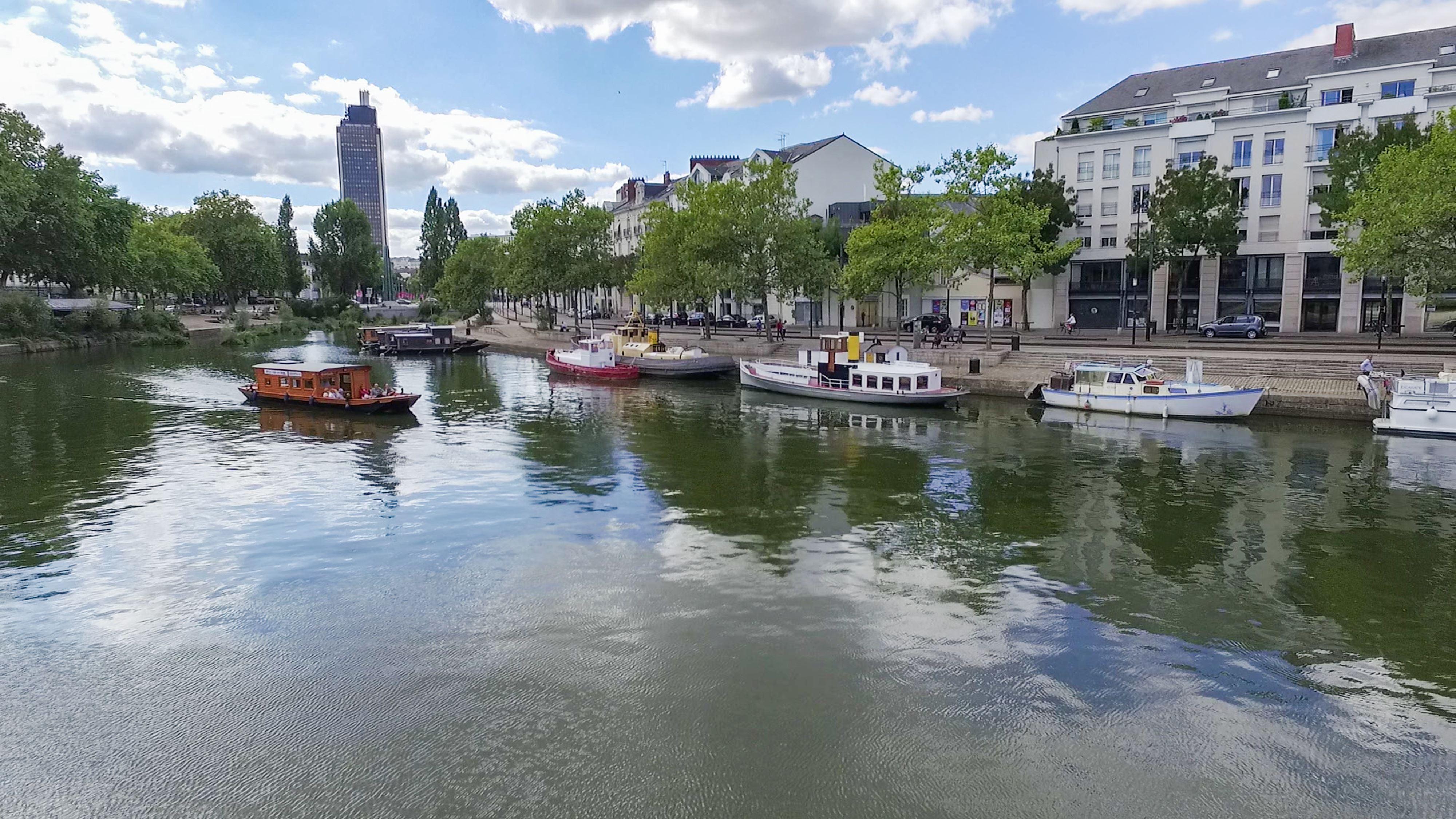 La Toue de Nantes sur L'Erdre et la Loire - Balade