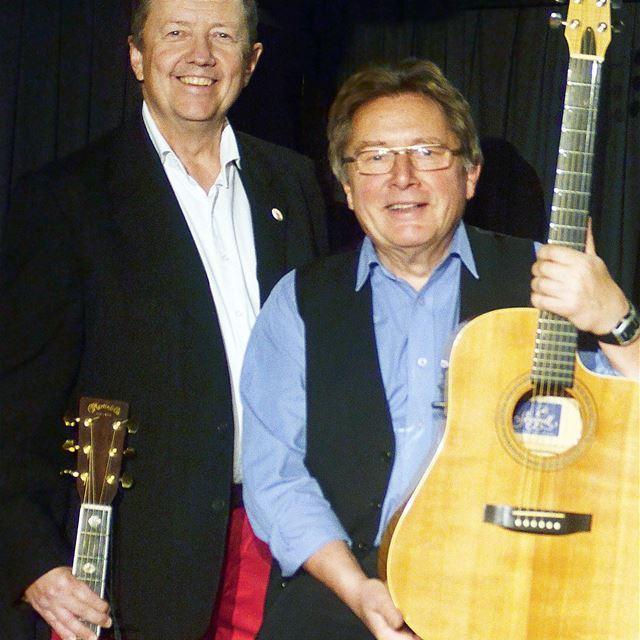 Musik vid milan med Mats & Sölve