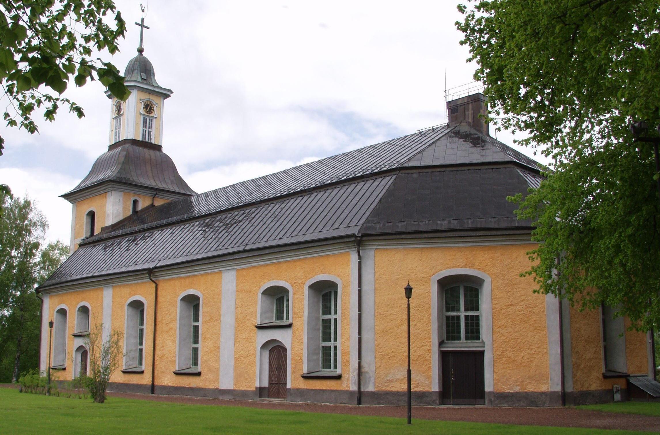 Pingstdagsmässa i Gustafs kyrka