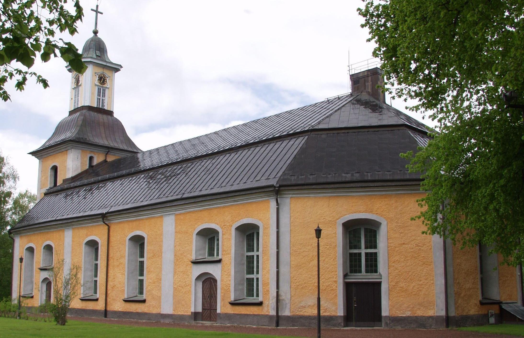 Gudstjänst i Gustafs kyrka