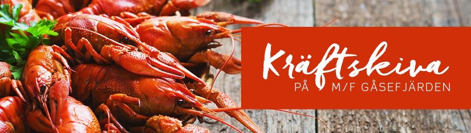 Crayfish party in the archipelago