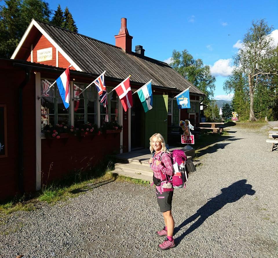 Pilgrimsföredrag med Hali Liddell på Ålsta Folkhögskola