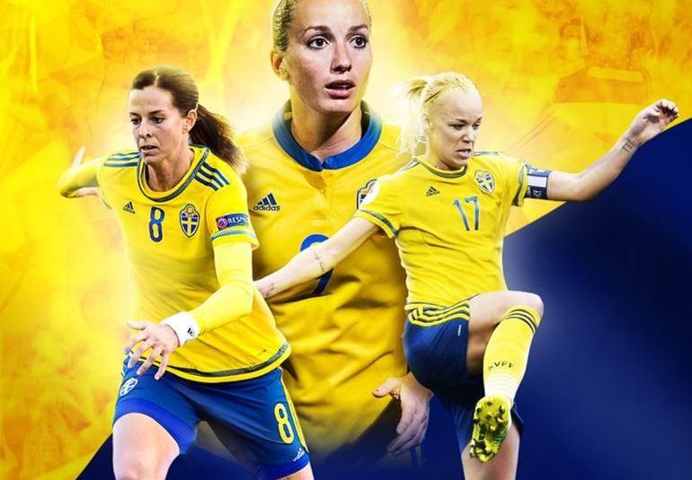 Fotbollslandskamp: Sverige - Skottland