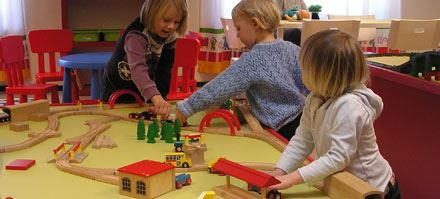 Barnens museum Lekstallet i Lokstallet