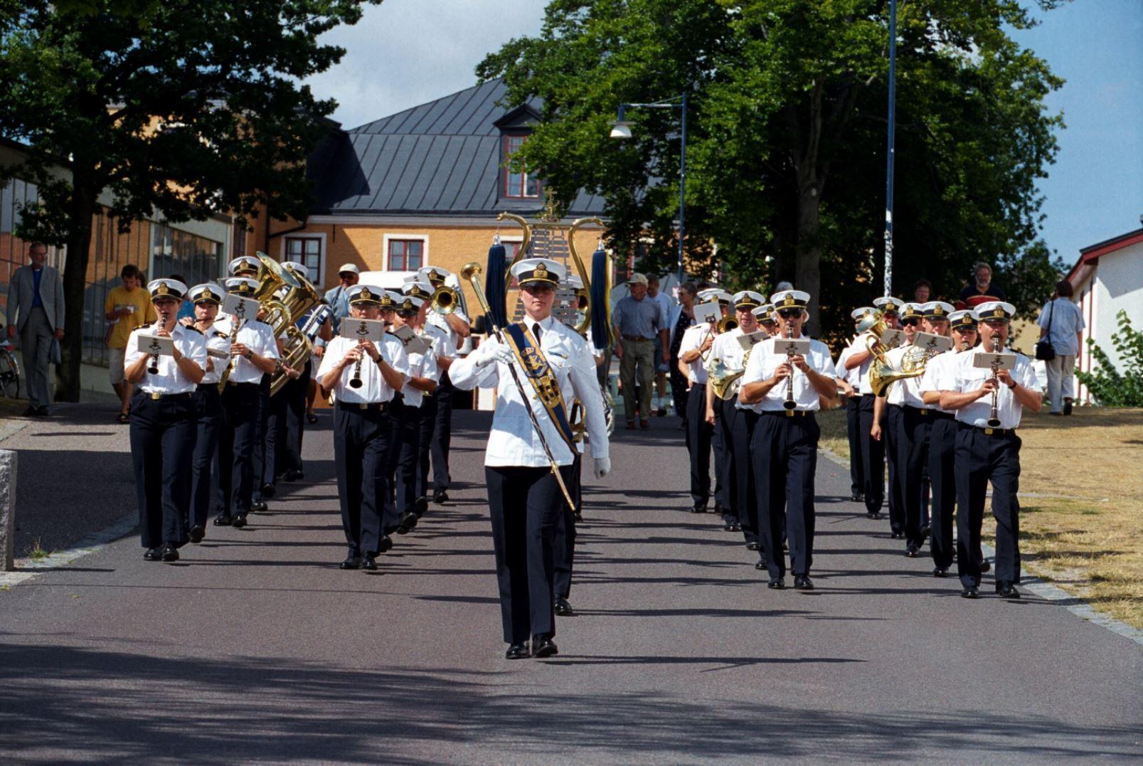 The Royal Swedish Navy Band - March
