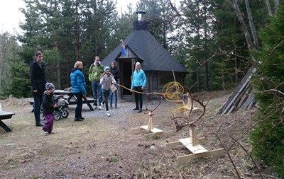 Valborg på Norra berget - öppet i Samevistet