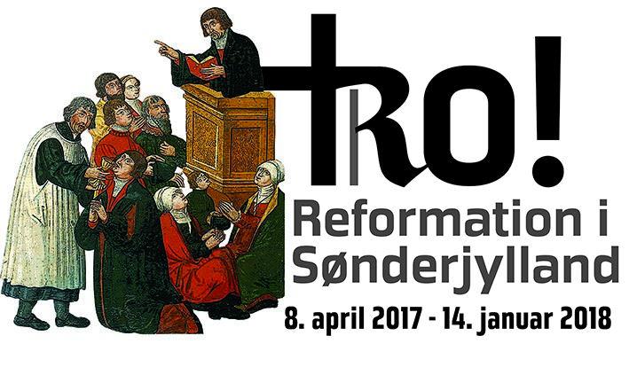 Rundvisning i udstillingen TRO!- reformation i Sønderjylland