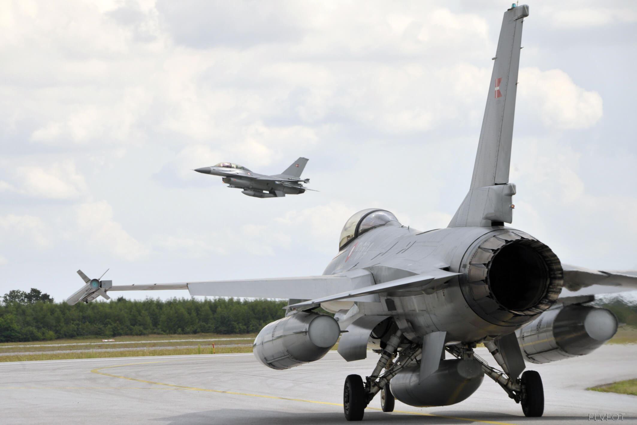 Kom tæt på F16 jagerne hos Fighter Wing Skrydstrup