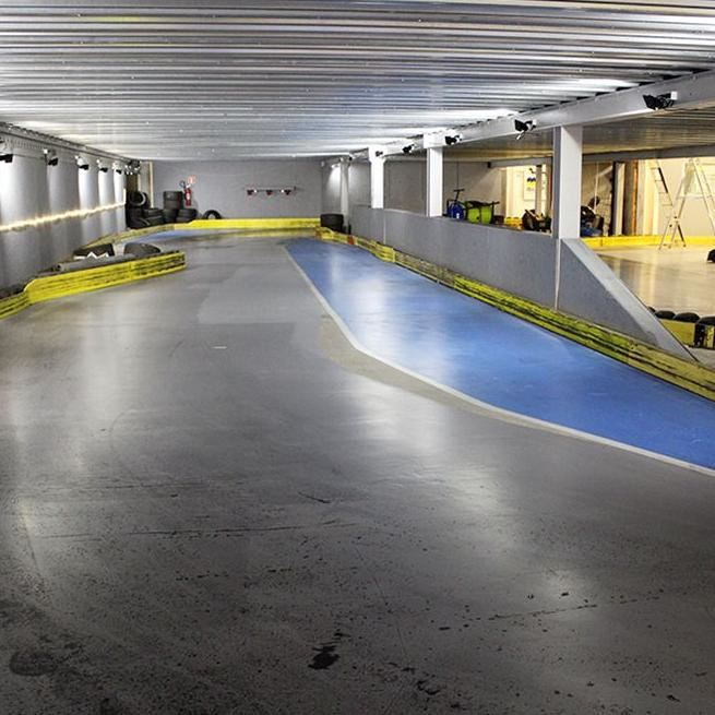 Gokart Arena Dalarna - Sveriges första tvåningsbana