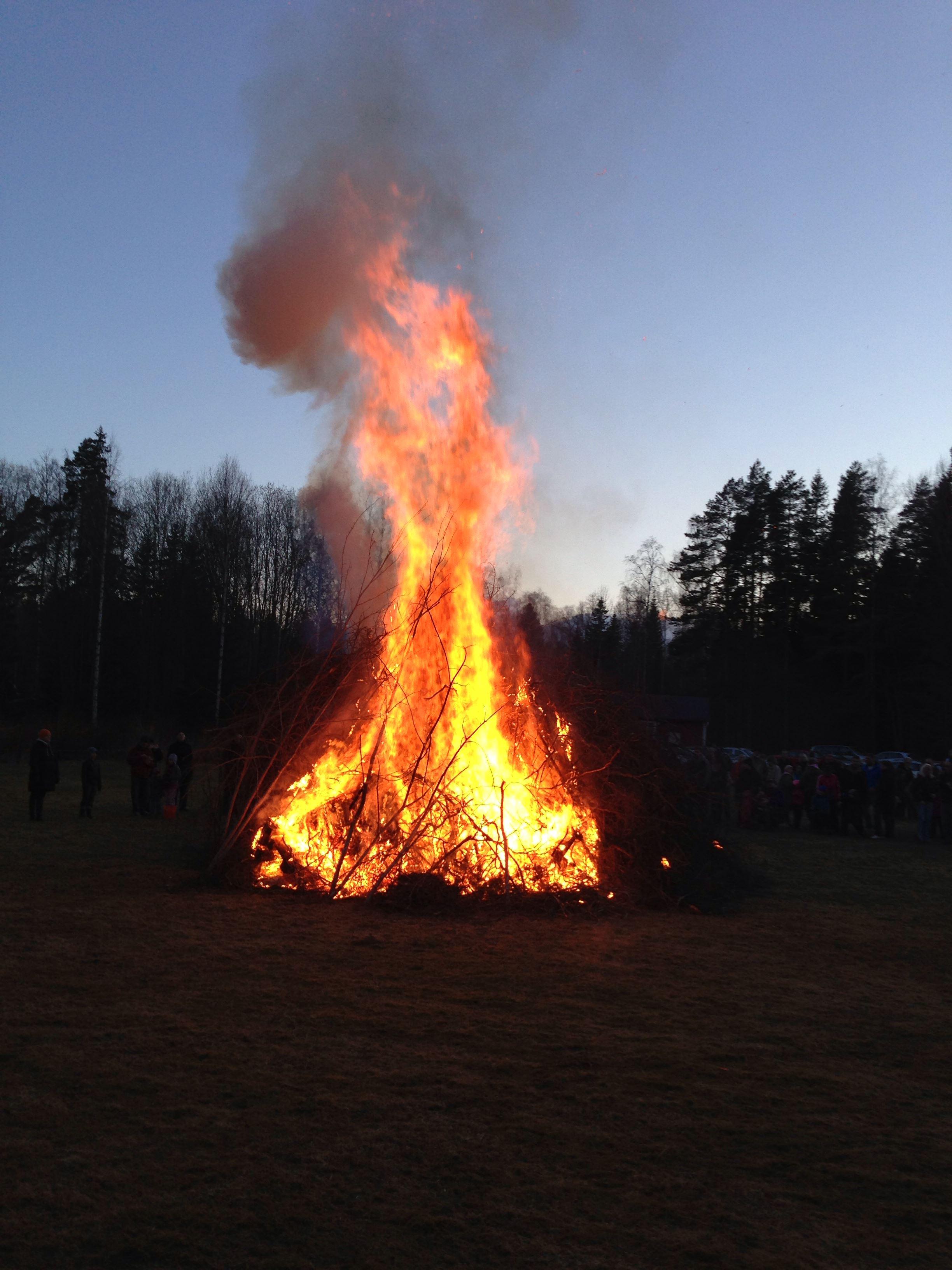 Valborgsfirande i Åkeholm