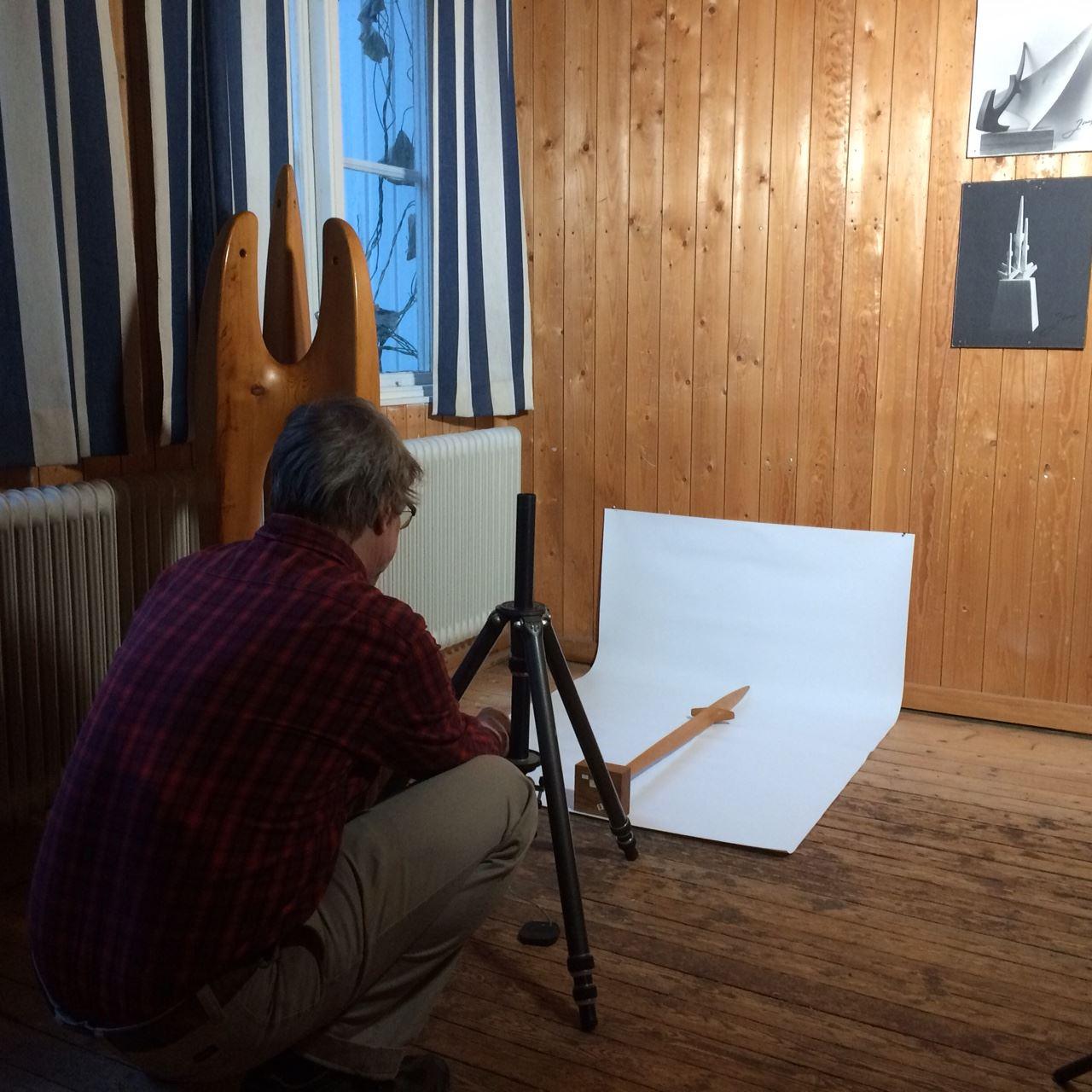Sommaröppet Johnny Mattsson-gården, ett konstnärshem i Gamla Gefle