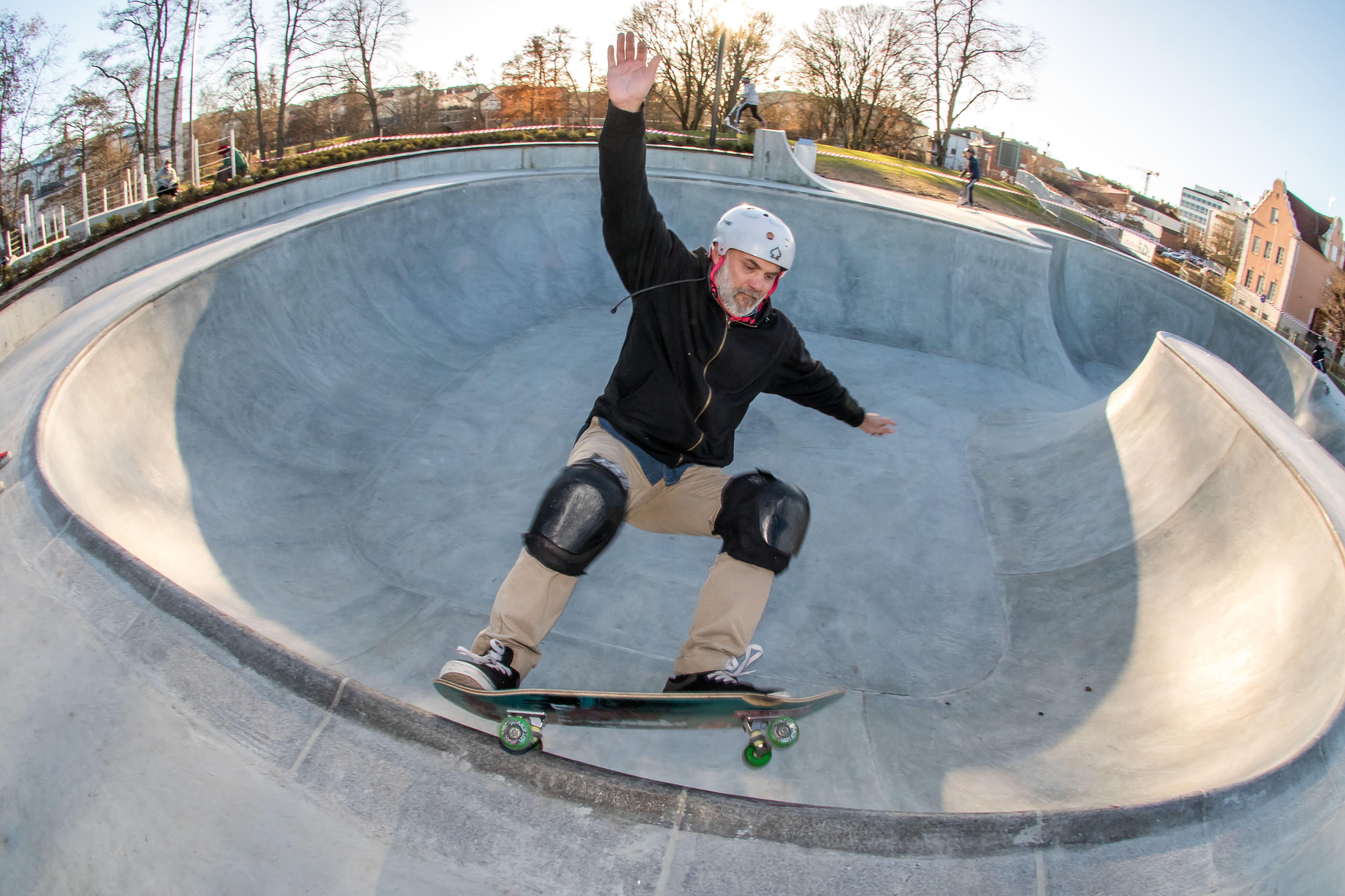 Patric Backlund,  © Värnamo Näringsliv AB, Värnamo skatepark