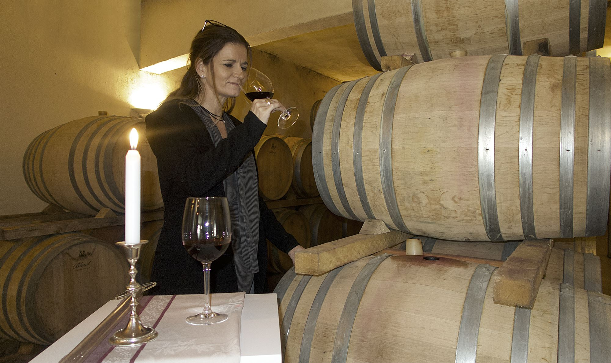 Tasting from the barrel with Haut-Lirou Wine Tour