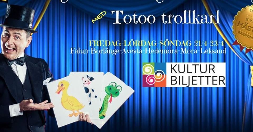 En magisk eftermiddag - Totoo Trollkarl