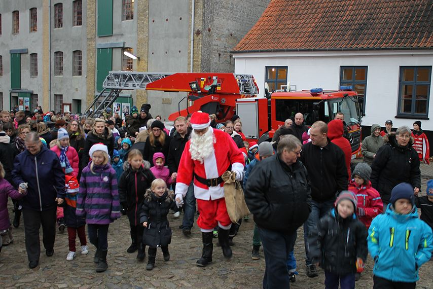 Christmas fair at Tørning Mill