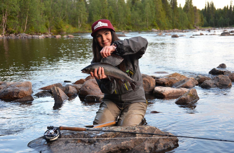 2-timmars nybörjarkurs i flugfiske för tjejer med Therese Lundin