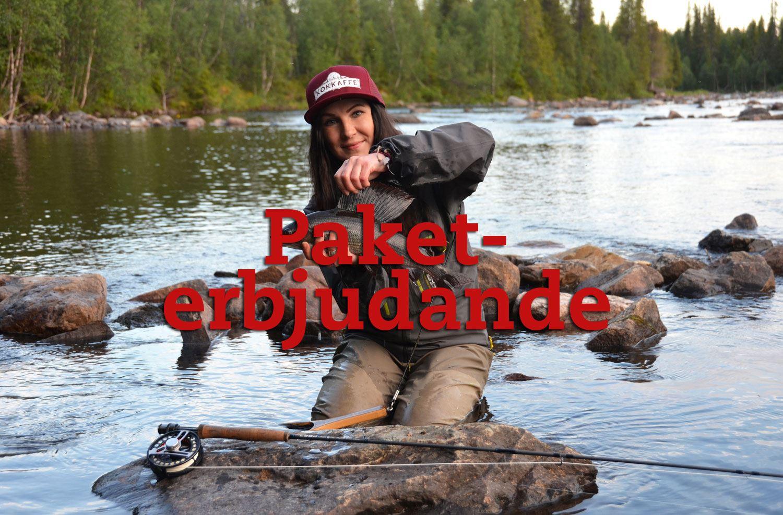 Flugfiske för tjejer med Therese Lundin, paketpris