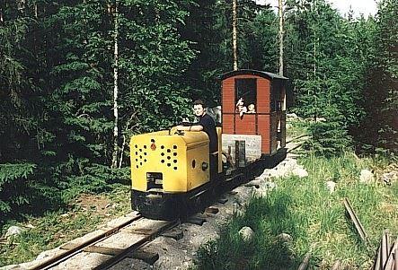 Närsen-Grontjärns Järnväg