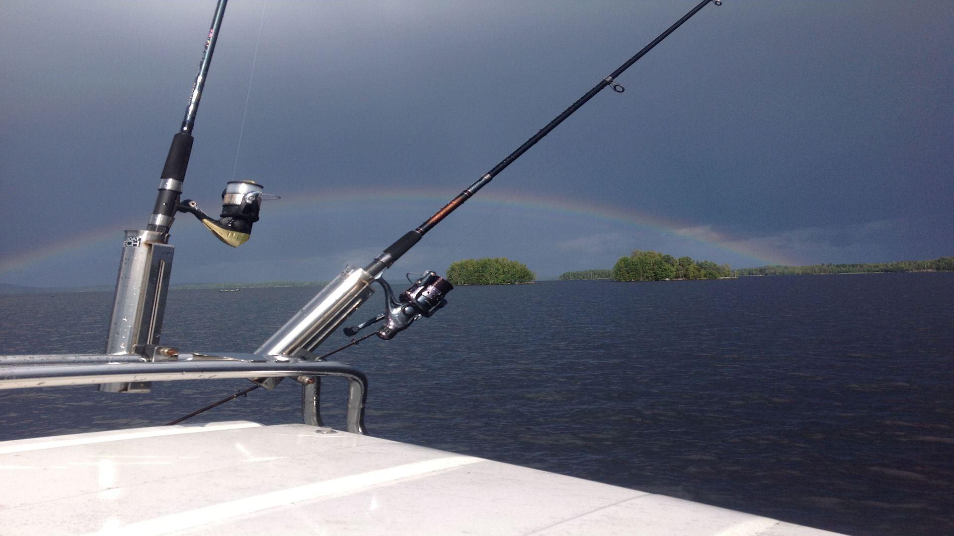 """Fishing package """"Ahti's Kingdom"""" on  The Lake Päijänne, 3 days"""
