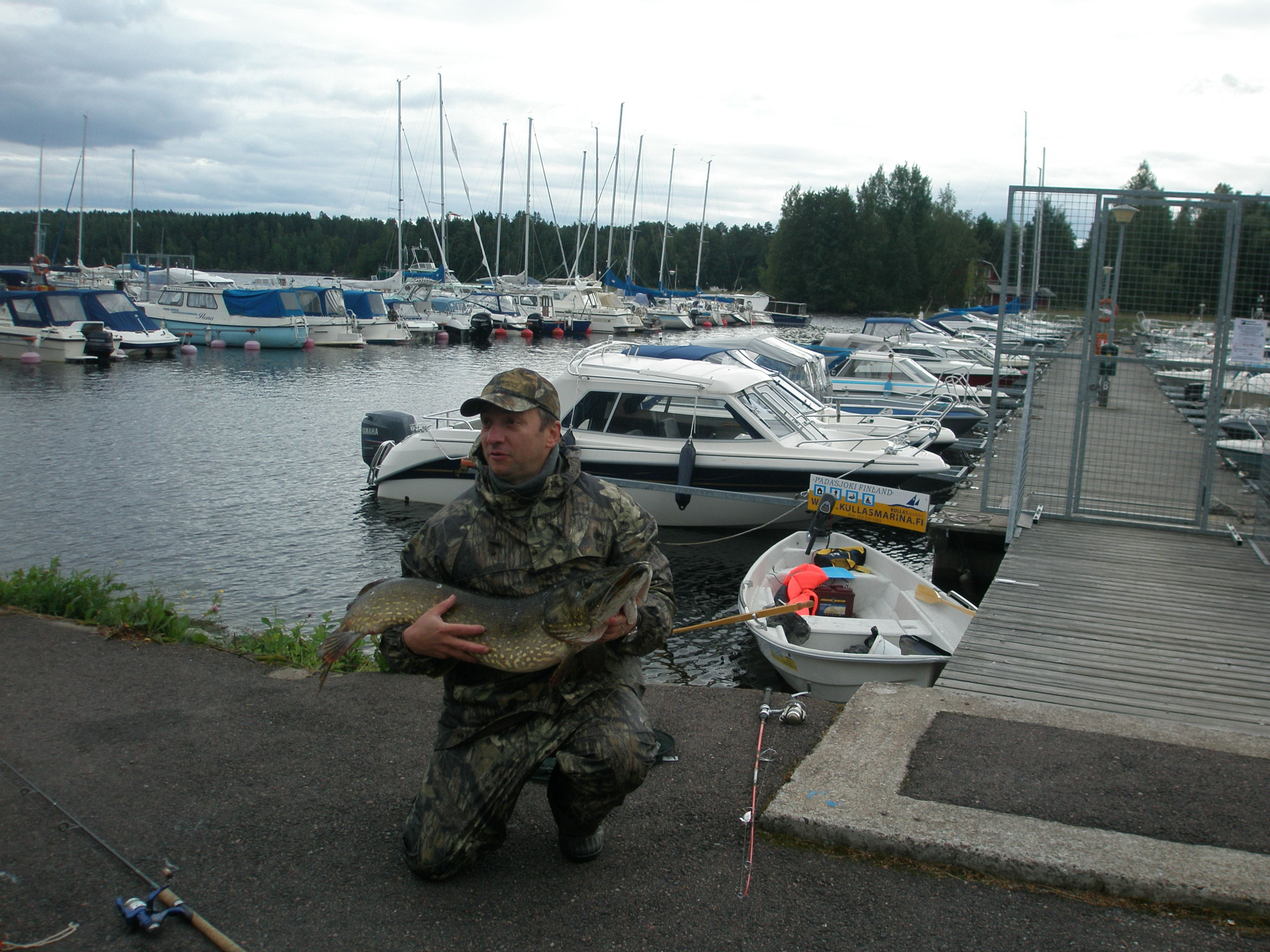 Self guided fishing on the Lake Päijänne in the Southern Finland | Kullasmarina