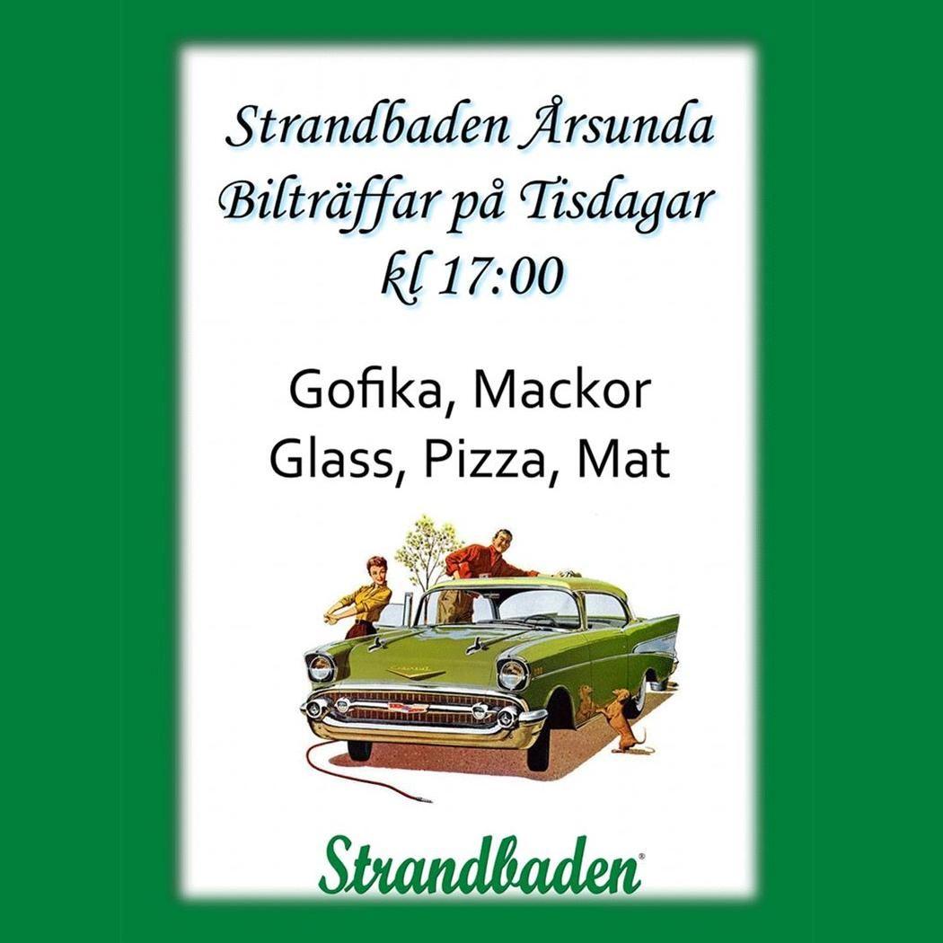 Bilträffar på Årsunda Strandbad