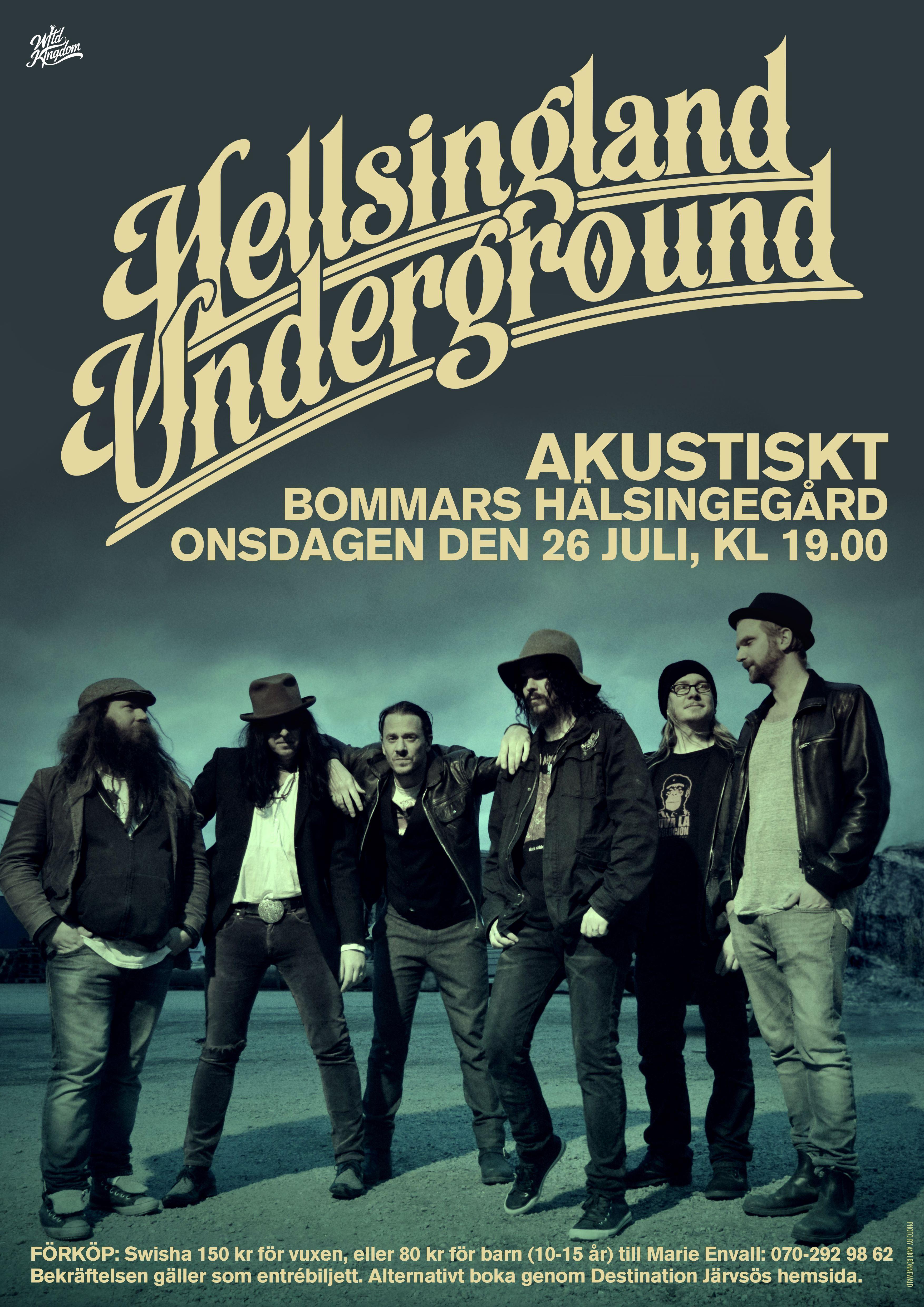 Konsert med Hellsingland Underground