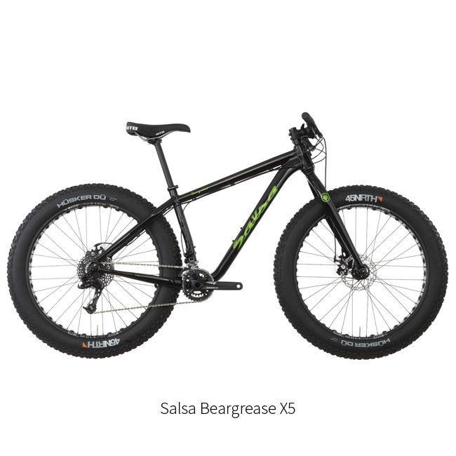 00. Fatbike Salsa Mukluk and Beargrease X5 Rental, 2016 models