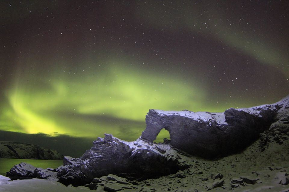 Northern Lights expedition to the North Cape