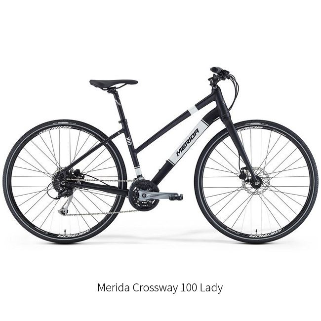 111. Touring - Trekking Bike Rental model Crossway Urban 100 or Montezuma