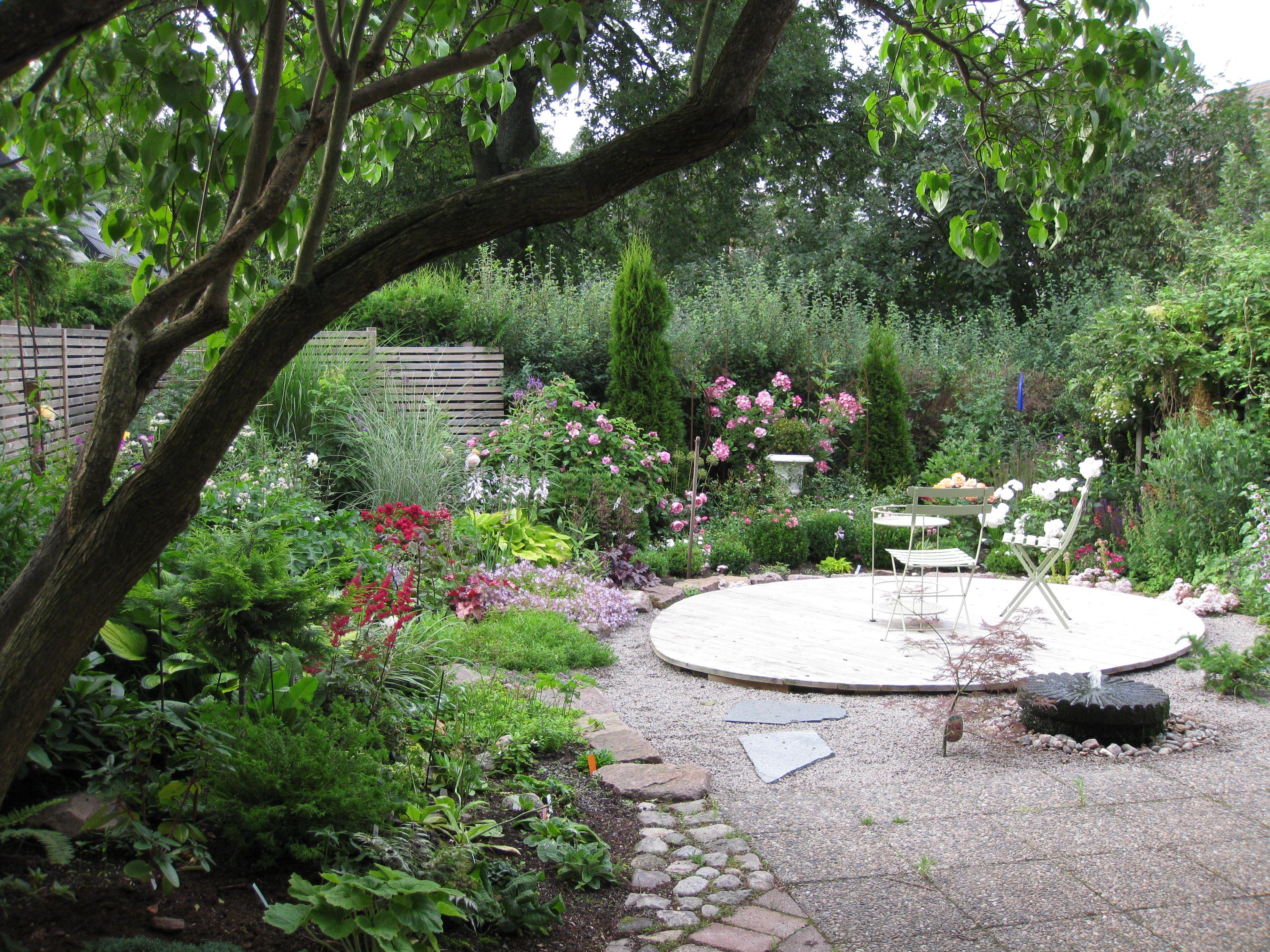 Öppen trädgård